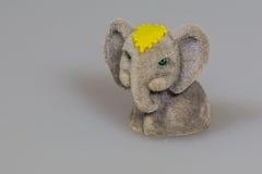 Toy plush elephants. A lovely toy plush elephant Royalty Free Stock Image