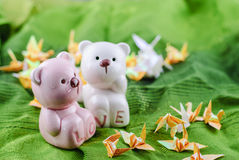Toy Plush Teddy Bear Royalty Free Stock Image