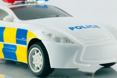 Toy police car Stock Photos