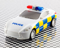 Toy police car Stock Images