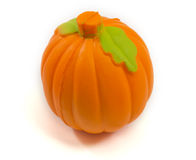 Toy Pumpkin Stressball Stock Photo