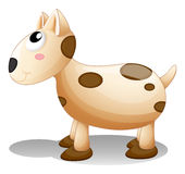A toy puppy Royalty Free Stock Photography