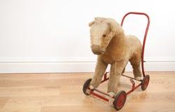 Toy push along horse Stock Images