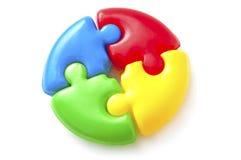 Toy puzzle Stock Photo