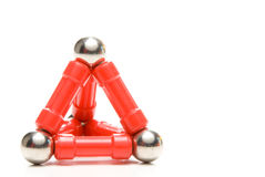 Toy Pyramid Royalty Free Stock Photo