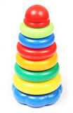Toy pyramid Stock Image
