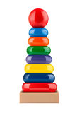 Toy pyramid Royalty Free Stock Image