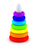 Toy pyramid Royalty Free Stock Photos