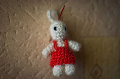Toy rabbit Royalty Free Stock Photography
