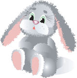 Toy rabbit. Royalty Free Stock Images