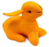 Toy rabbit Stock Image