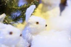 Toy Rabbit Fotografia de Stock Royalty Free