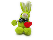 Toy rabbit Stock Image