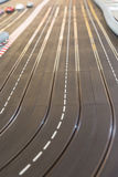 Toy race car track Stock Image