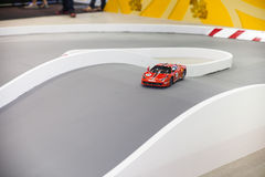Toy race track Royalty Free Stock Images