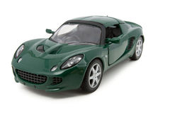 Toy racing car Stock Images