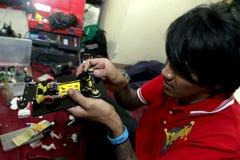Toy racing car Stock Photography