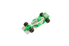 Toy racing car. Royalty Free Stock Images