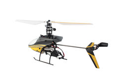 Toy radio helicopter Stock Images