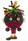 Toy rastafarian Stock Photography