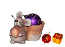 Toy rat Royalty Free Stock Image