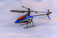 Toy RC Helicopter Stock Image