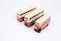 Toy Red Double Decker Bus lizenzfreie stockbilder