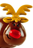 Toy reindeer Royalty Free Stock Photo