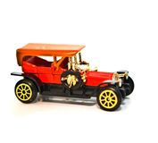 Toy Replica / Old Car Stock Photo