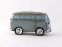 Toy Retro Van Imagem de Stock Royalty Free