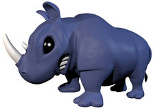 Toy Rhinoceros Royalty Free Stock Image