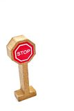 Toy Road Sign Immagini Stock