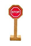 Toy Road Sign Immagini Stock Libere da Diritti