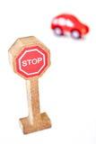 Toy Road Sign Fotografia Stock