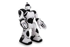 Toy robot Stock Photo