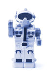 Toy Robot. On White Background Stock Images