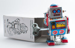 Toy Robot Stock Foto's