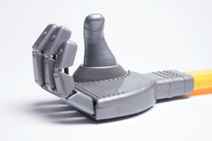 Toy Robot Hand Stock Photography