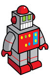 Toy robot illustration Royalty Free Stock Images