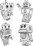 Toy robots Royalty Free Stock Photo