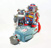 Toy robots Royalty Free Stock Image