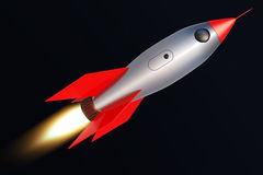 Toy rocket Stock Images