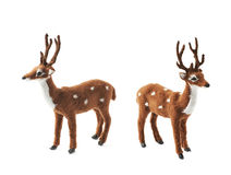 Toy roe deer fawn isolated Royalty Free Stock Image