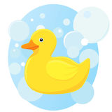 Toy rubber duck. Stock Images