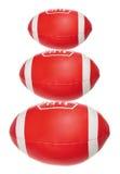 Toy Rugby Balls stock afbeeldingen