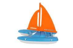 toy sail boat Stock Photo