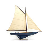 Toy sailboat Royalty Free Stock Photos