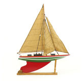 Toy sailboat Stock Photography