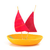 Toy Sailboat Royalty Free Stock Images