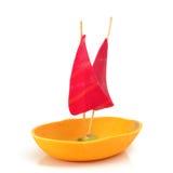 Toy Sailboat Stock Photo